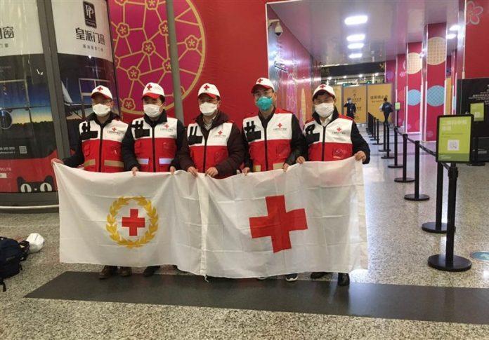 تیم متخصصان پزشکی چین وارد تهران شد