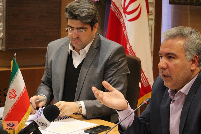 نشست مطبوعاتی فرماندار تبریز