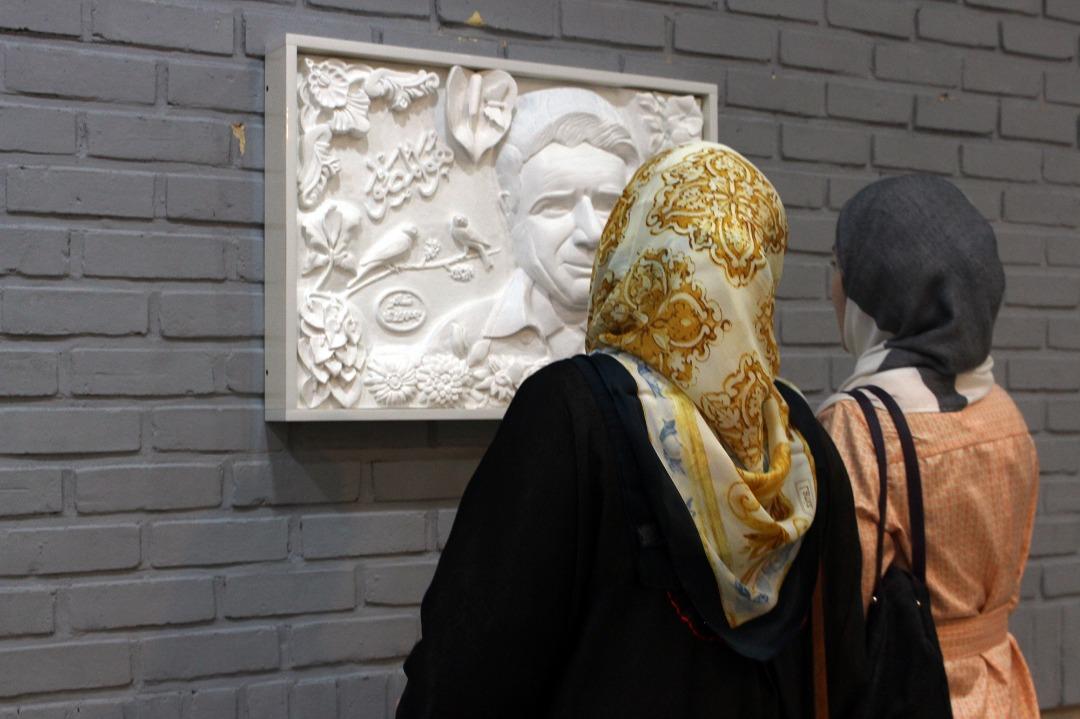 اولین نمایشگاه آثار گچبری سنتی مدرن نادر جمهوری