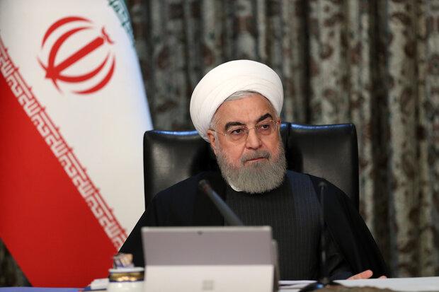 روحانی: موفقیت در مبارزه با کرونا به خاطر حمایت مردم است