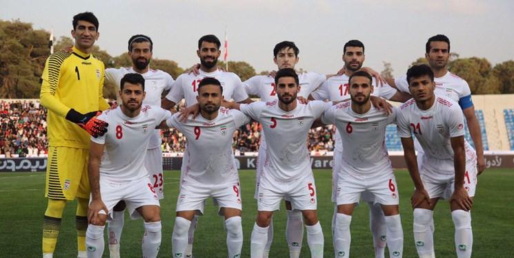 تیم ملی فوتبال ایران در رده دوم آسیا و سیوسوم جهان در رنکینگ جدید فیفا