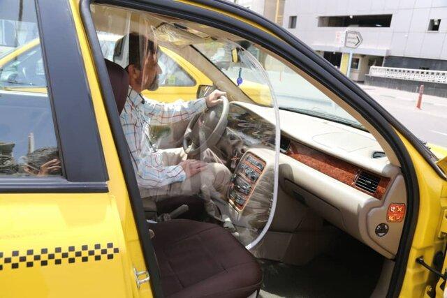 مسافرگیری 3 نفره تاکسی ها مشرط به داشتن کاور نایلونی