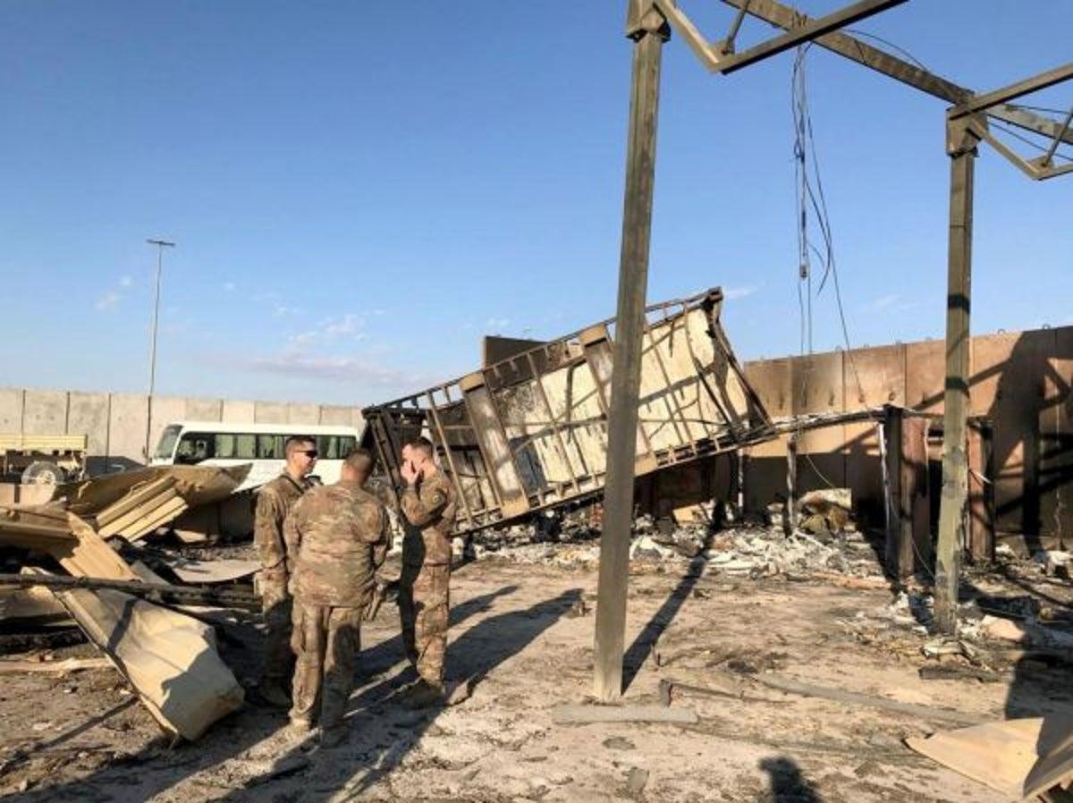واشنگتن پست: در حمله عین الاسد بیش از ۱۰۰ نظامی آمریکایی زخمی شدند