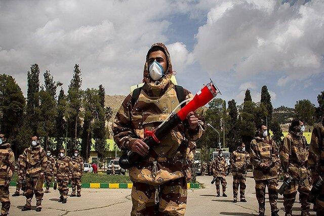 «رژه خدمت» یگانهای منتخب ارتش آغاز شد