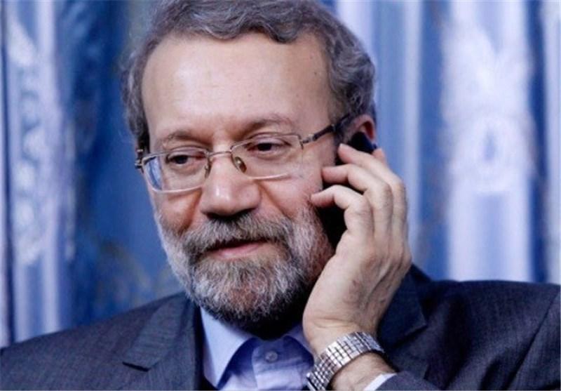 لاریجانی در تماس تلفنی «هنیه»: ایران همواره پشتیبان حقوق مردم مظلوم فلسطین است