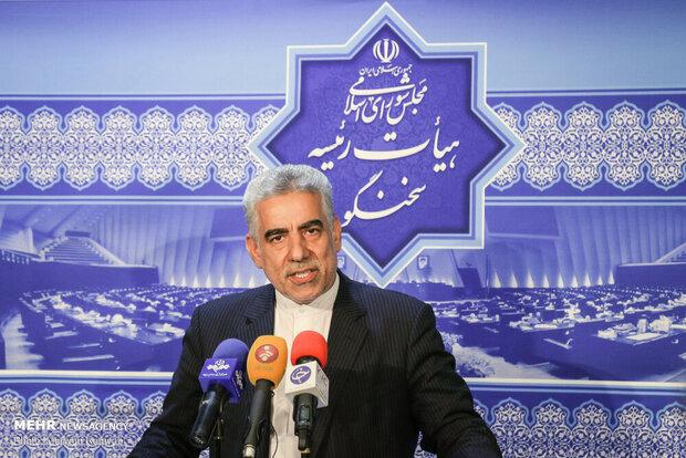 لاریجانی رئیس جلسه روز سه شنبه مجلس خواهد بود
