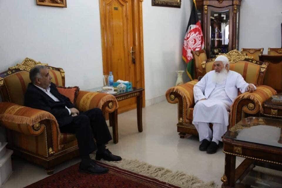 دیدار نماینده ویژه وزیر خارجه ایران با مقامات افغان