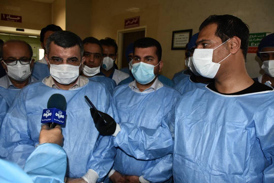 حریرچی:محققان ایرانی در تلاش برای یافتن واکسن و داروی کووید ۱۹ هستند