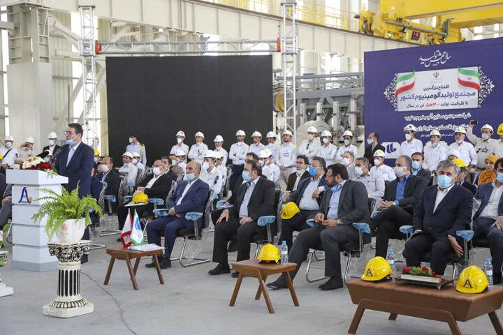 وزیر صنعت و معدن: میانگین تولید فولاد خام کشور از میانگین دنیا بیشتر شد