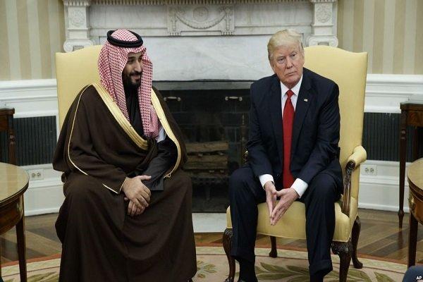 رویترز: ترامپ تلفنی بن سلمان را تهدید کرد