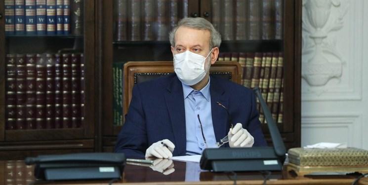 لاریجانی در جلسه شورای عالی هماهنگی اقتصادی قوا حاضر شد