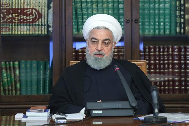 روحانی بر ضرورت پرداخت بهنگام حقوق و مستمری کارکنان و بازنشستگان تاکید کرد