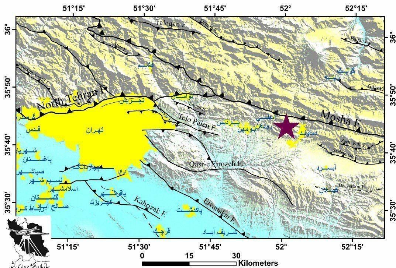 ۲۳ مصدوم و یک فوتی از زلزله تاکنون