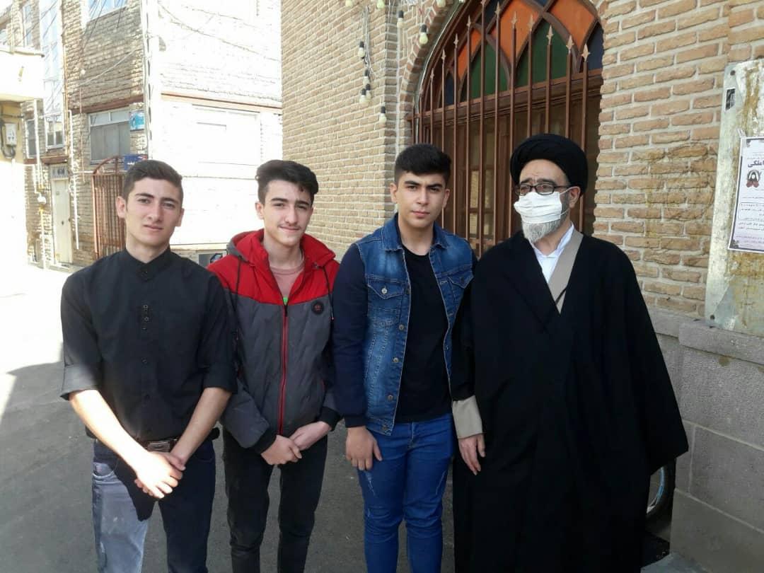 حضور امام جمعه تبریز در رزمایش کمک مومنانه محله قراملک