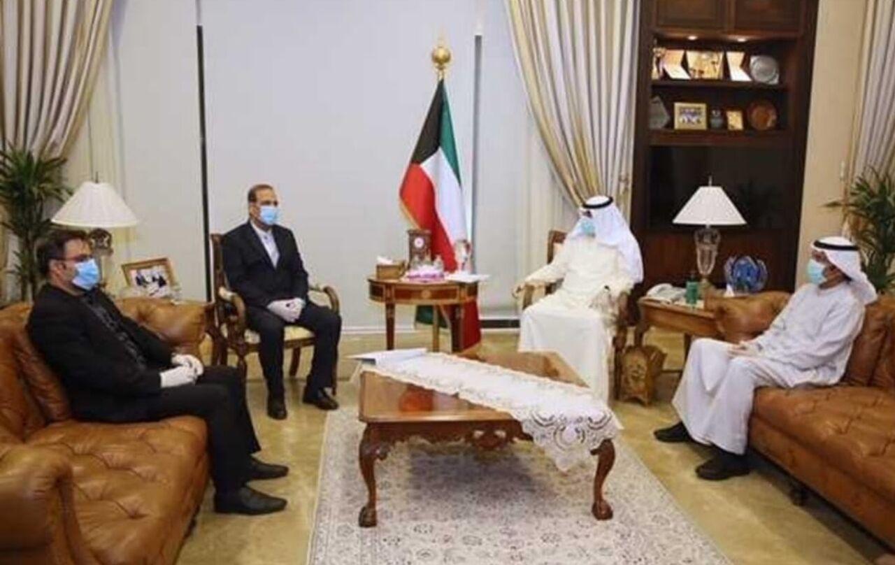 پیام روحانی به امیر کویت به قائم مقام وزارت خارجه این کشور تحویل شد