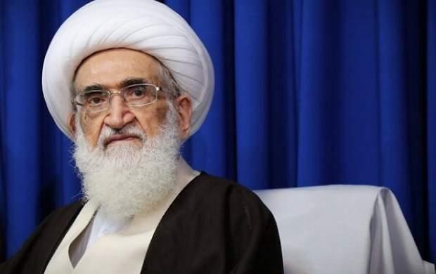 درخواست آیتالله نوریهمدانی از مردم ایران؛ همگان دست به دعا برداریم تا سایه کرونا از بشریت برداشته شود