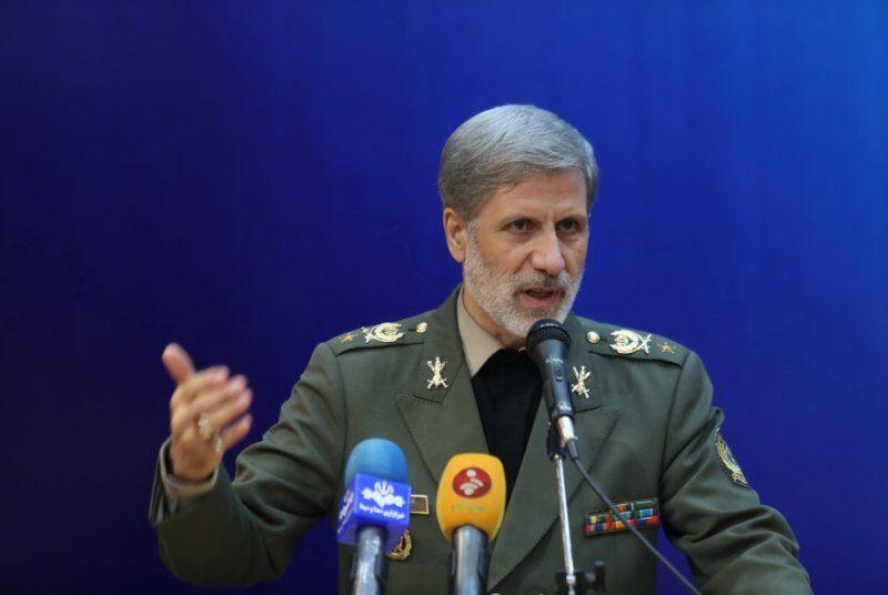 وزیر دفاع: ایران در دفاع از امنیت ملی خود به هر متجاوزی پاسخی قاطع خواهد داد