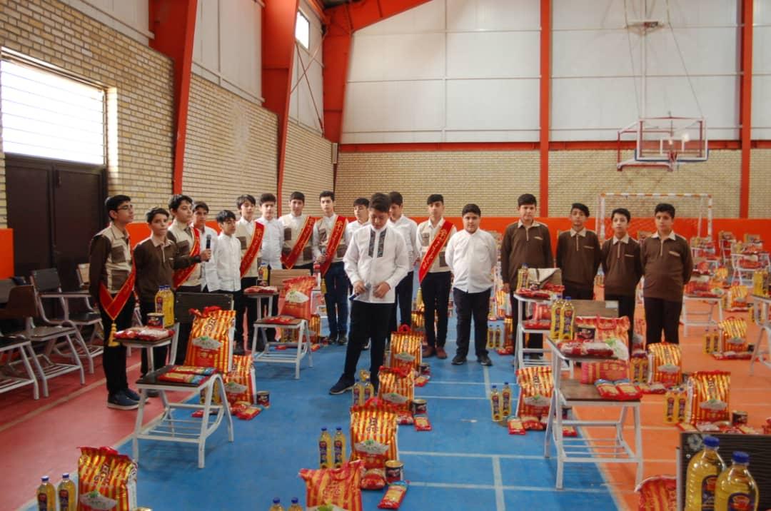 رزمایش همدلی دانشآموزان تبریزی