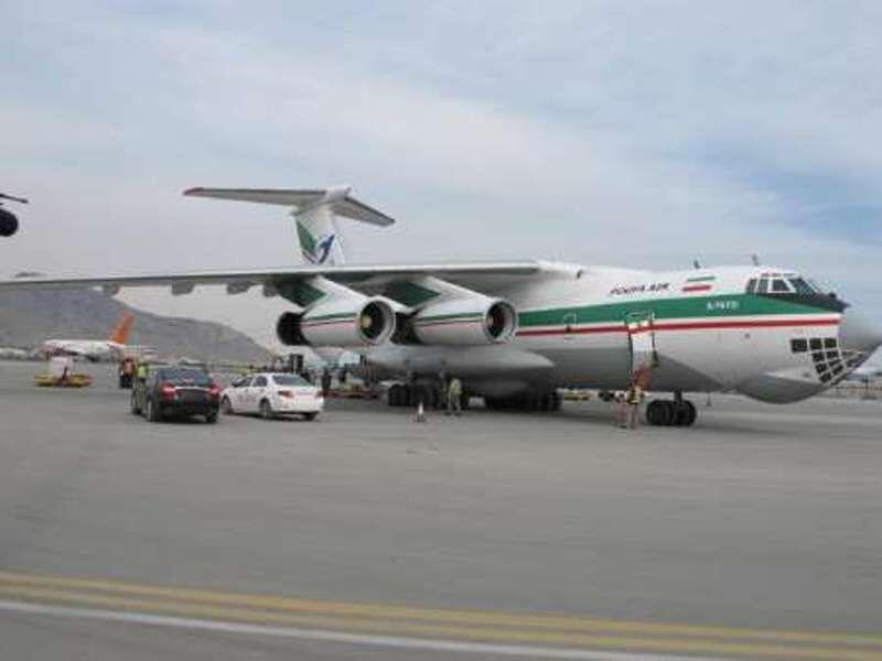 هواپیمای حامل کمکهای بهداشتی ایران به کابل رسید