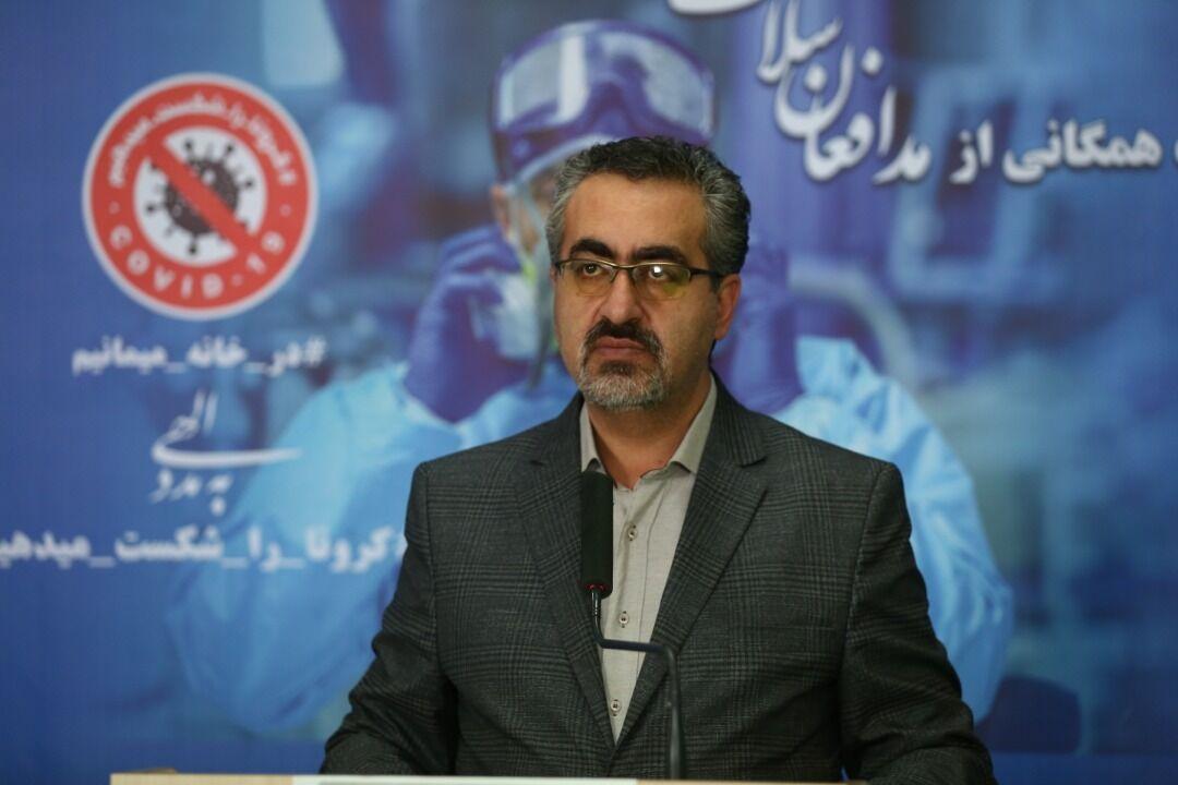 ۵۶ نفر دیگر از مبتلایان کرونا در ایران جان باختند