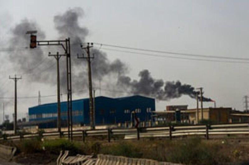 دود سیاه پالایشگاه تبریز بزودی برطرف می شود