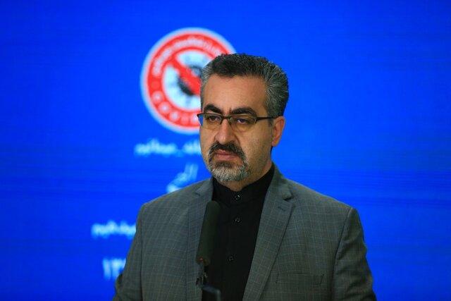 """۲۳۶۴ ابتلا و ۷۲ فوتی جدید کرونا در کشور / کاهش تعداد شهرهای """"قرمز"""" خوزستان"""