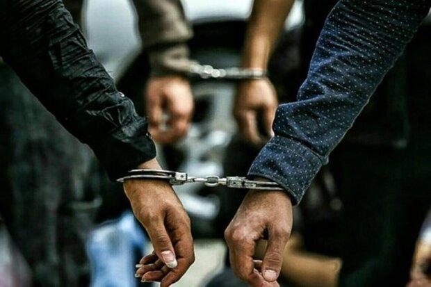 دستگیری اعضای باند سارقان خودرو در تبریز