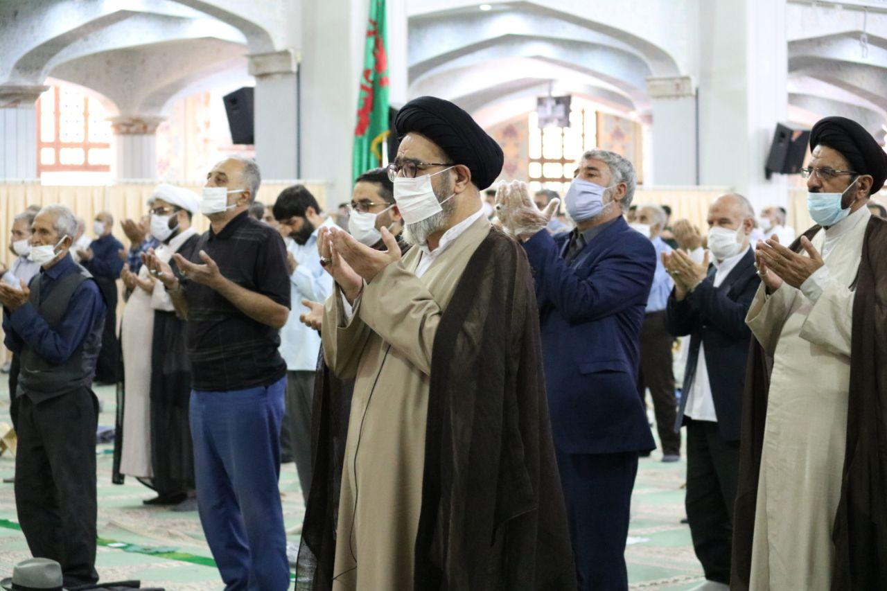 اولین نماز جمعه تبریز بعد از شیوع کرونا
