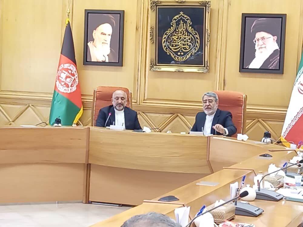 وزیر کشور: سند همکاری جامع از مسائل مهم ایران و افغانستان است