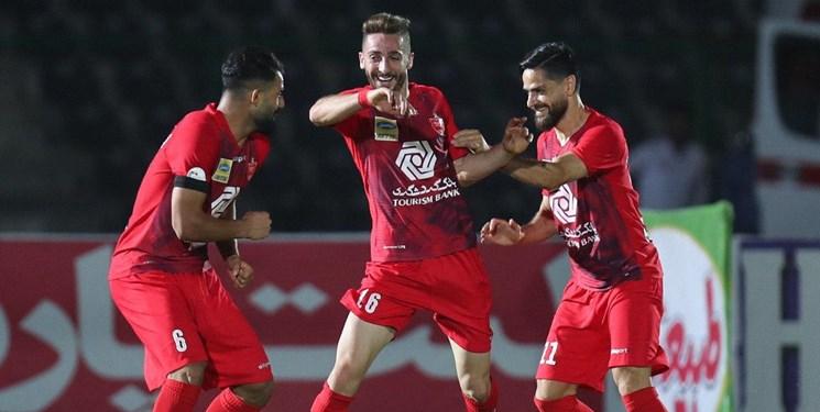 هفته بیستودوم لیگ برتر فوتبال| پرسپولیس با «پیکان» به قهرمانی نزدیک تر شد
