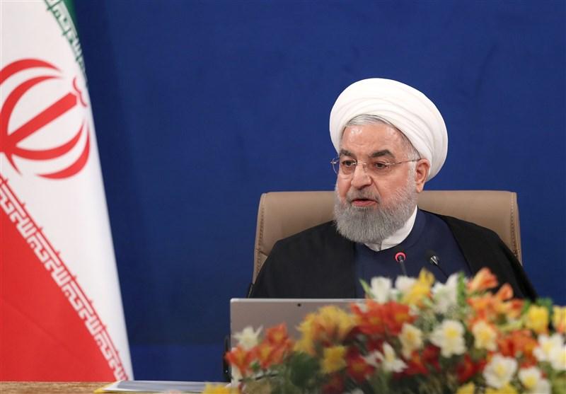 روحانی: قانون سزار غیرانسانی و یک تروریسم اقتصادی است/ نیروهای آمریکایی زودتر از منطقه و سوریه خارج شوند