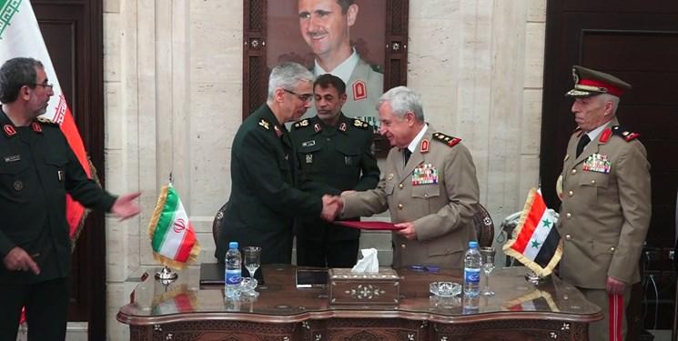 ایران و سوریه در زمینه همکاریهای نظامی و امنیتی توافق کردند