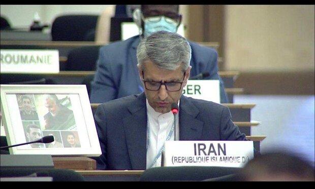 سفیر ایران در ژنو: ترور سردار سلیمانی صلح و امنیت بینالمللی را به خطر انداخت