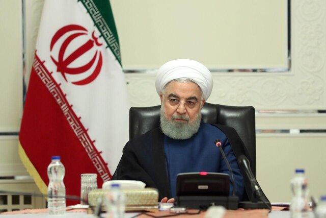 رییس جمهور در جلسه هیات دولت:ایران کشوری صلح طلب است