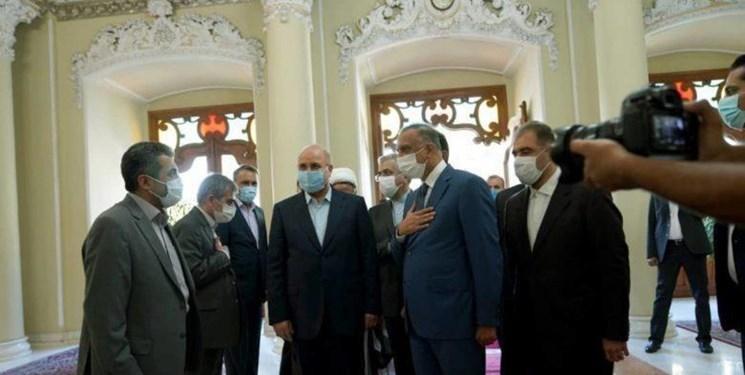 دیدار نخست وزیر عراق با قالیباف