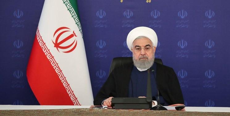 روحانی: ارزیابیها حکایت از نزولی شدن شیب شیوع کرونا دارد