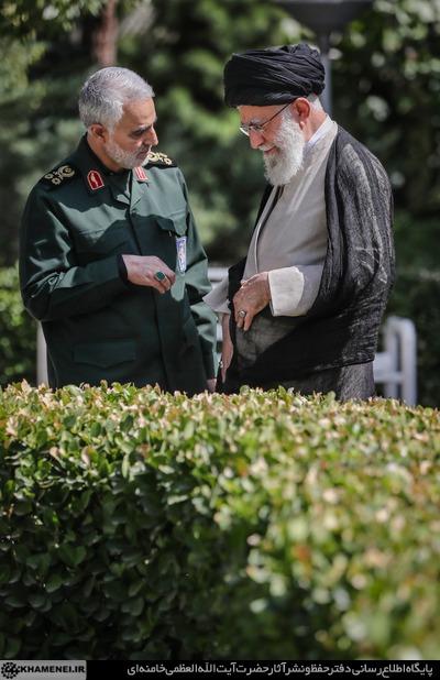 سخنان منتشرنشده رهبر انقلاب و سردار سلیمانی در مورد افول اسرائیل
