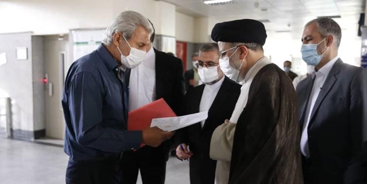 بازدید سرزده رئیس قوه قضائیه از مجتمع قضایی لواسانات