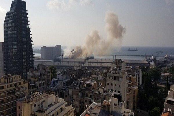 وقوع یک انفجار مهیب در بیروت/ ۷۳ تن کشته و ۳۷۰۰ تن دیگر زخمی شدند