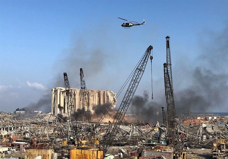 لحظه به لحظه با انفجار بیروت|پدیدار شدن رگههایی از دخالت تلآویو در فاجعه ۴ آگوست/ سفر تاملبرانگیز ماکرون به لبنان