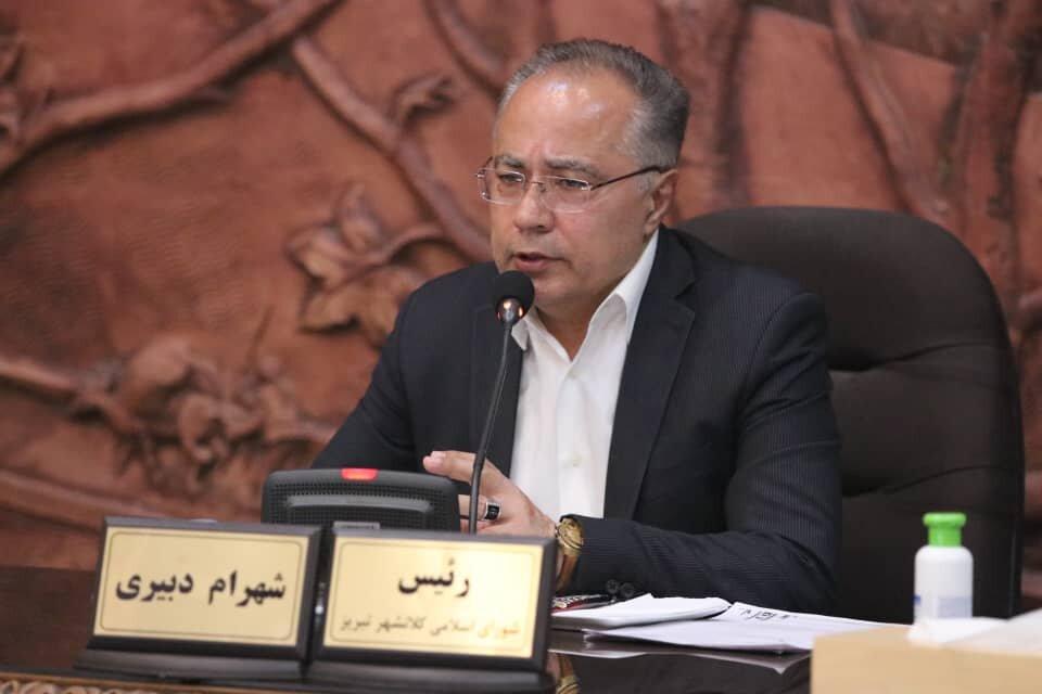 شهرام دبیری، رئیس شورای اسلامی تبریز باقی ماند