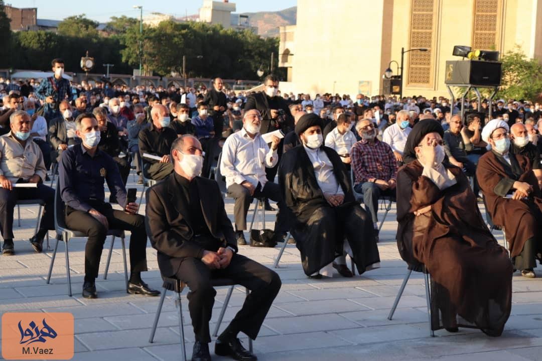 مراسم شام غریبان فخرالذاکرین حاج فیروز زیرک کار