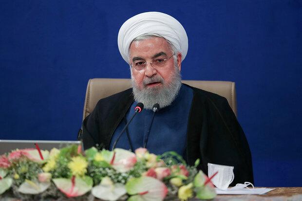 روحانی: مردم باید احساس کنند که مقاومت آنها در برابر دشمنان موثر بوده است
