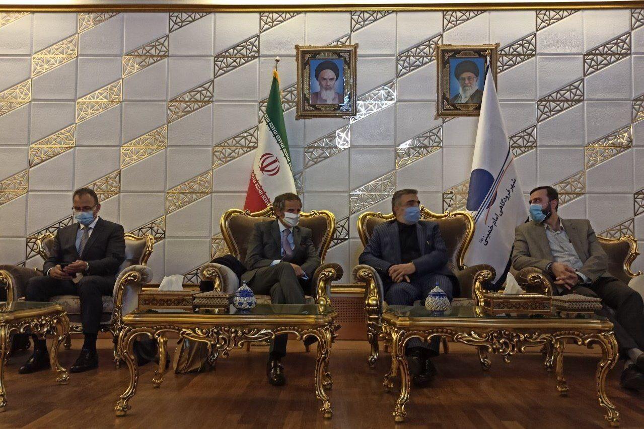 گروسی وارد تهران شد