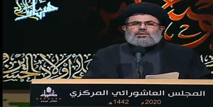 حزبالله: لبنان نیازمند حامی است نه فتنهانگیز/مقاومت شاگرد مکتب حسین (ع) است