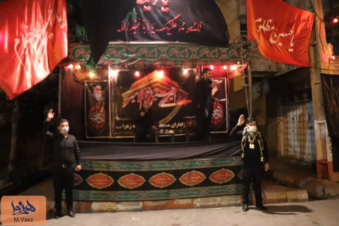 شبهای عزاداری سیدالشهدا(ع) در تبریز
