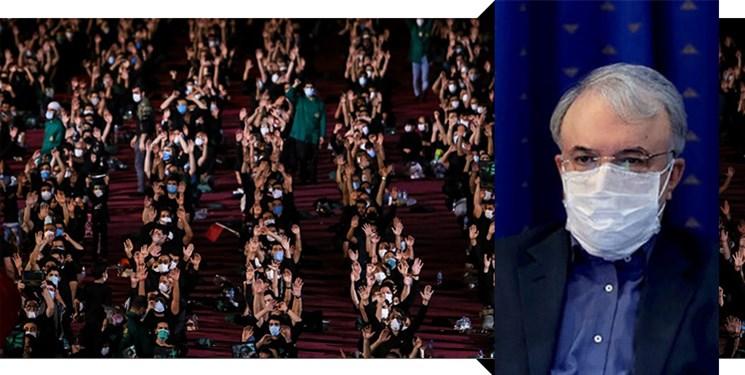 قدردانی وزیر بهداشت از برگزارکنندگان مراسم عزاداری محرم