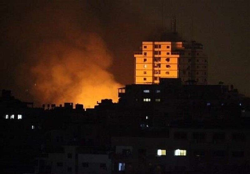 ارتش رژیم صهیونیستی طی ۱۹ روز ۱۰۰ بار غزه را هدف قرار داد