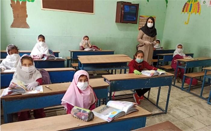 نحوه حضور دانش آموزان در مدارس آذربایجان شرقی