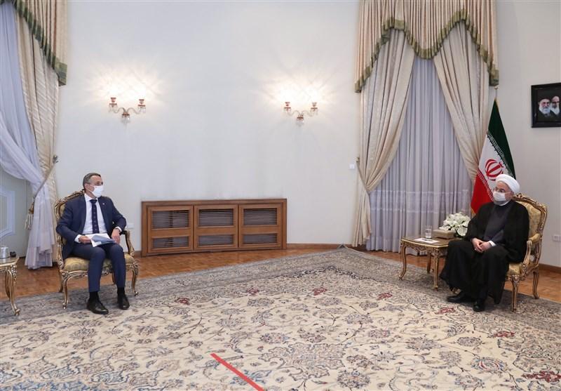 روحانی خطاب به وزیر خارجه سوییس: مردم ایران در برابر گردن کشی تسلیم نخواهد شد